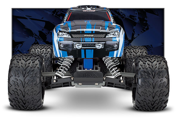 blue stampede front view