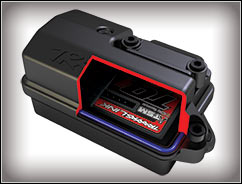 Waterproof Receiver Box (#3628) with TQi Traxxas Link Receiver (#6518)