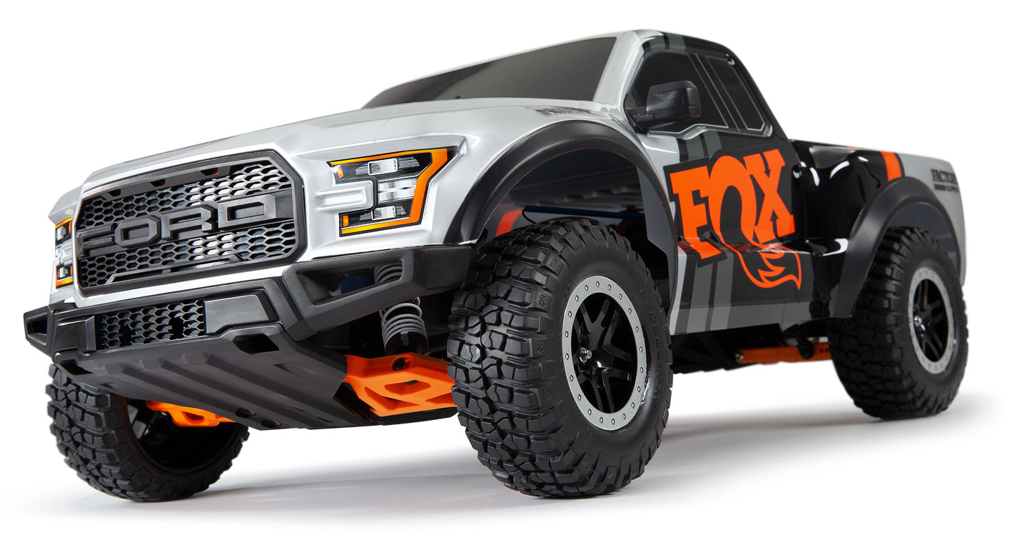 Heavy-Duty Suspension Arms (#3631T) Installed Raptor
