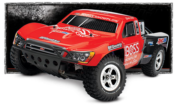Authentic Pro 2WD Action In A Nitro Powered Short Course Race Truck