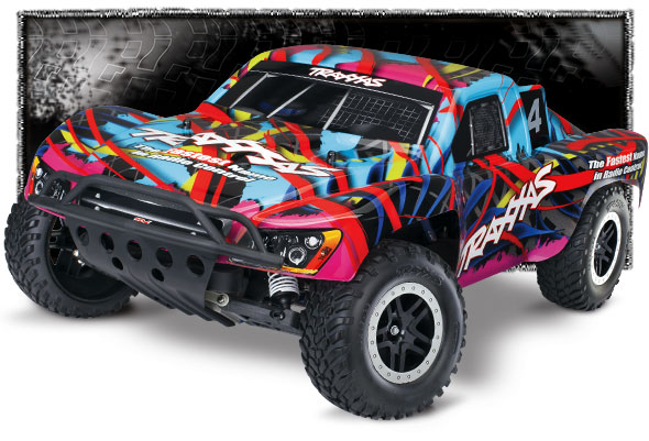 Details about 44056-3 Nitro Slash: 1/10-Scale Nitro-Powered 2WD Short  Course Racing Truck