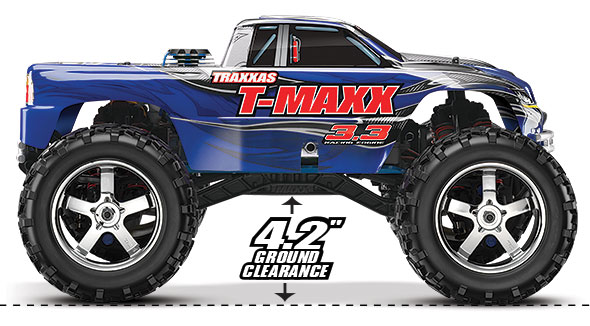 "T-Maxx 3.3 (#49077-1) 4.2"" Ground-Clearance"