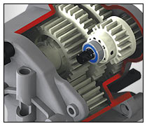 4907 T-Maxx 3.3 Auto shifting Two-Speed Transmission