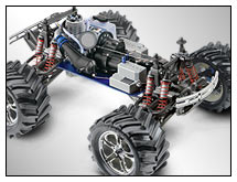 T-Maxx Classic (#49104-1) View - Three-Quarter Chassis