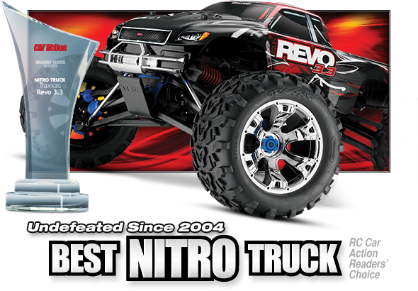 Revo 3.3 (#53097-3) Best Nitro Truck! Undefeated Choice Since 2004!