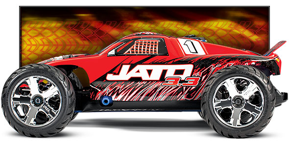 Jato 3.3 (#55077-3) Side View (Red)