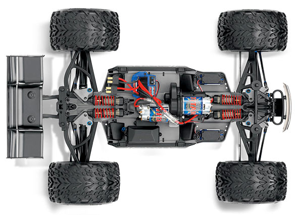 erevo /scale wd electric racing monster truck with tqi ., schematic