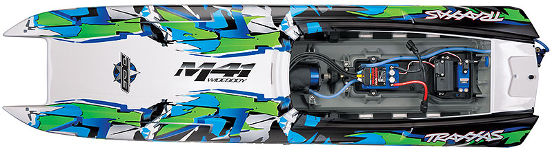Traxxas DCB M41 Widebody (#57046-4) Three-Quarter Front View (Green)