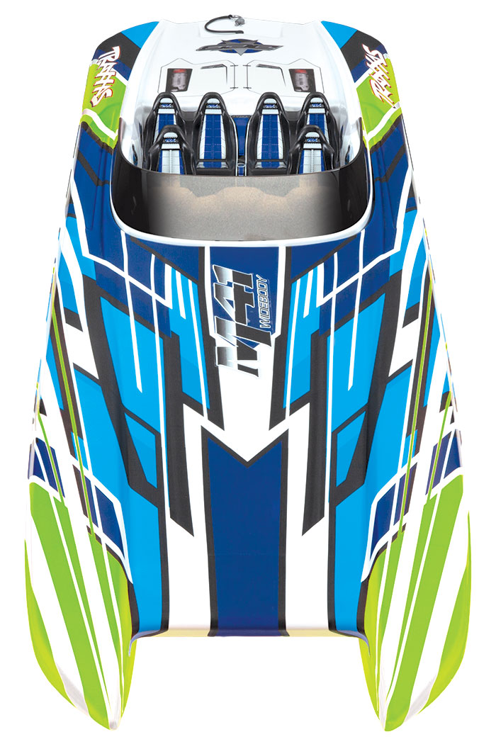 Traxxas DCB M41 Widebody (#57046-4) Front Top View