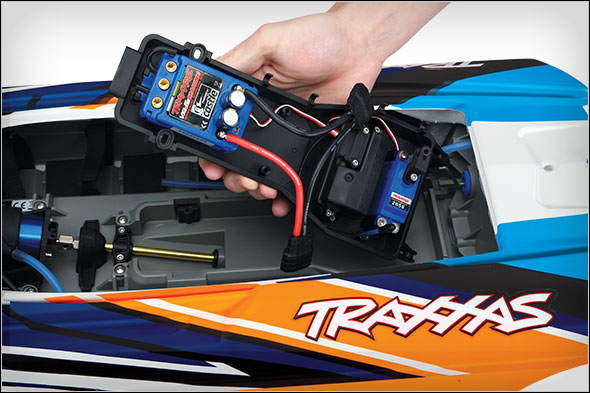 Traxxas DCB M41 (#57046-4) Removable Electronics Tray