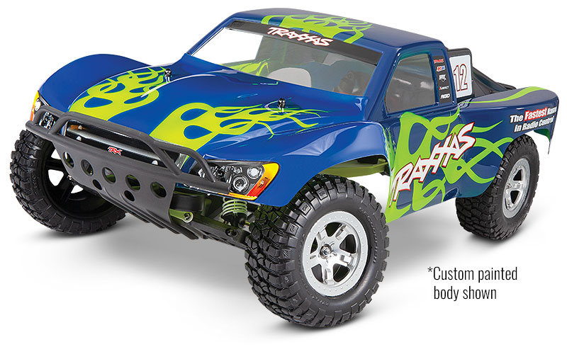 Slash 2WD Unassembled Kit (#58014-4) Custom Painted Body Shown (shown as assembled)