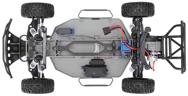 Slash top chassis
