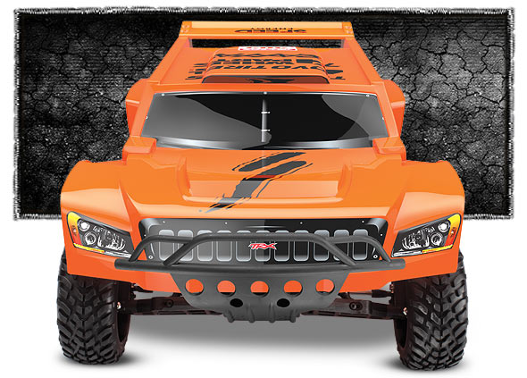 5804 Robby Gordon Dakar Front Orange m Traxxas Slash, Summit, Short course truck, Rally Stocked!