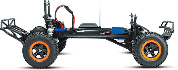 5804 Robby Gordon Dakar Side Chassis m Traxxas Slash, Summit, Short course truck, Rally Stocked!