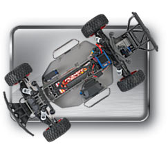 NEW Traxxas Slash 1/10 2wd 4wd Red Silver Black White
