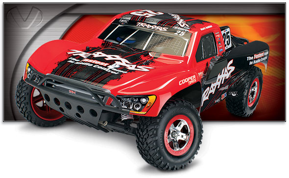 Slash VXL (TSM) (#58076-4) Three-Quarter View (Mark Jenkins Edition,Traxxas #25)