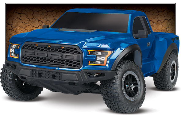 traxxas ford f 150 raptor 2017 2wd 1 10 rtr 58094 1. Black Bedroom Furniture Sets. Home Design Ideas