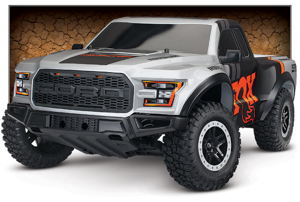 Traxxas 58094 1 FOX 2017 Ford F 150 Raptor Slash 2WD 10 Truck RTR