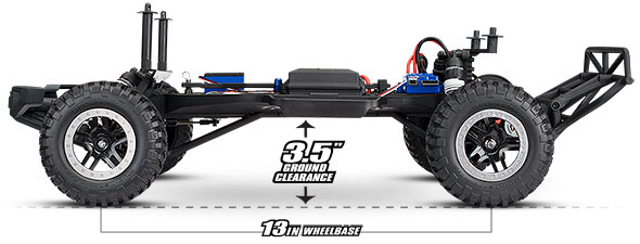 Ford F-150 Raptor (#58094-1) Chassis (Ground Clearance)