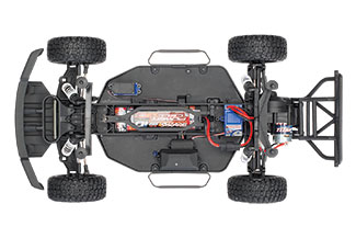 Ford F-150 Raptor (#58094-1) Chassis (Top)
