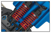 Slayer Pro 4X4 (#5907) Hard-Anodized, PTFE-Coated GTR Aluminum Shocks