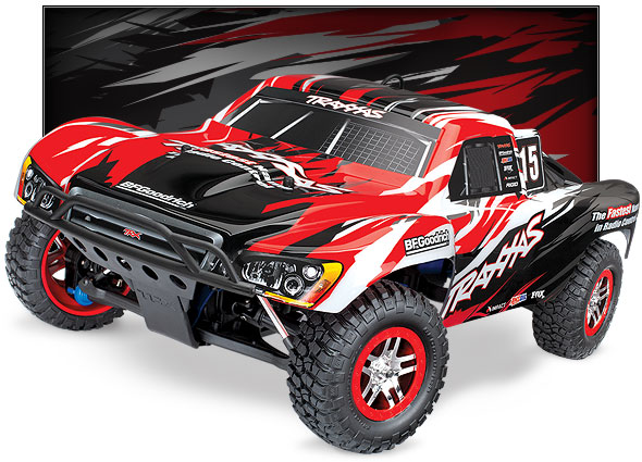 Nitro Slayer Pro 4X4 (#59076-3) Three-Quarter View (Red)