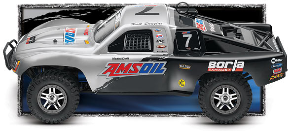 Traxxas 59076-3 Nitro Slayer Pro 1/10 4WD RTR RC Short Course Truck with TMS
