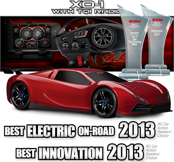XO1 17 Scale AWD Supercar with TQi 24GHz radio system