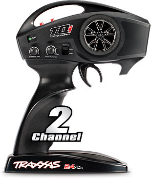 Traxxas TQi™ 2.4GHz 2-channel radio system