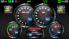 Traxxas Link App - Customizable Dashboard (60+mph, Electric)