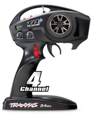 TQi 2.4GHz (#6530 - Wireless-Enabled) Compatible with Traxxas Link Wireless Module (4-Ch)