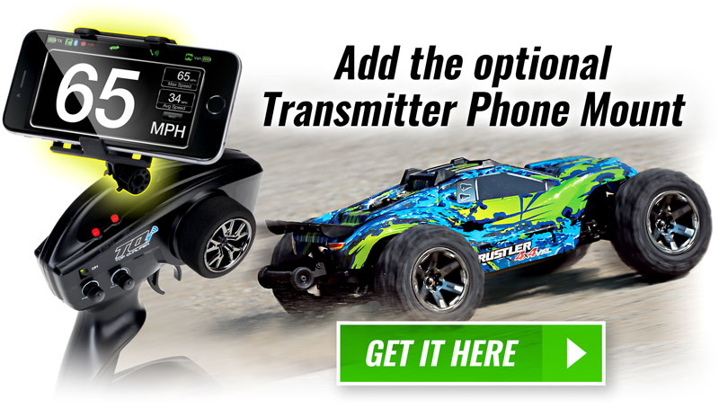 Add the optional Transmitter Phone Mount - Get it Here!