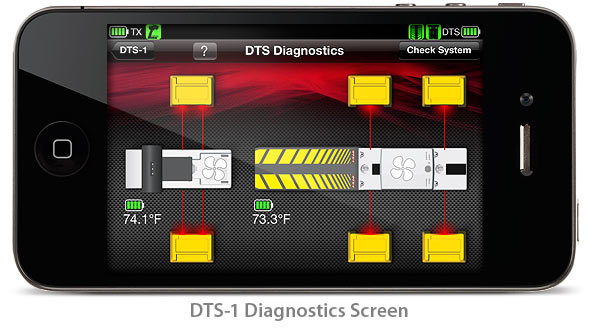 DTS-1: Diagnostics Screen (Traxxas Link App)