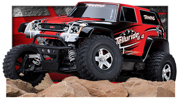 67044 Telluride 3qtr Rocks m Traxxas New Telluride 4x4, are you ready to explore?