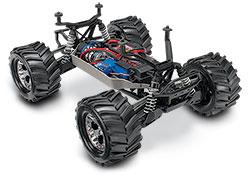 Stampede 4X4 Brushed (#67054-1) Three-Quarter Chassis Front
