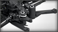 Optimum-Geometry Dual Bellcrank Steering for Stampede 4X4 Brushed