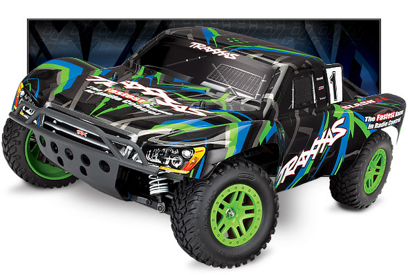 Slash 4X4 (68054-1) Front Three-Quarter View (Green)