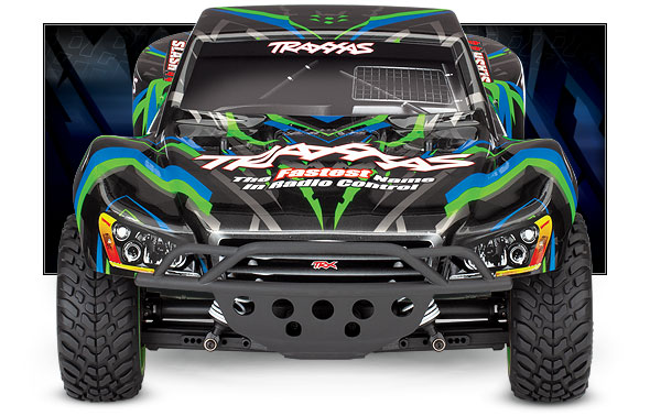 Slash 4X4 (#68054-1) Front View (Green)