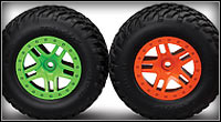 Slash 4X4 (68054-1) Color-Matching Wheels
