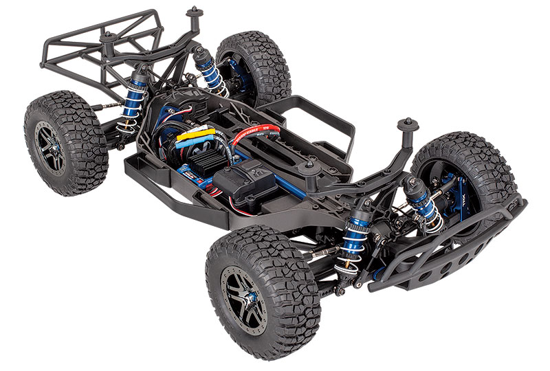 Slash 4X4 Ultimate (#68077-4) Chassis Three-Quarter View