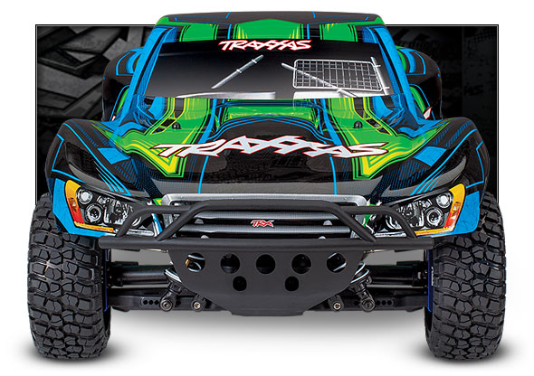 Slash 4X4 Ultimate (#68077-4) Front View (Green)