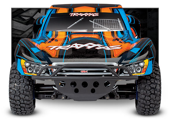 Slash 4X4 Ultimate (#68077-4) Front View (Orange)