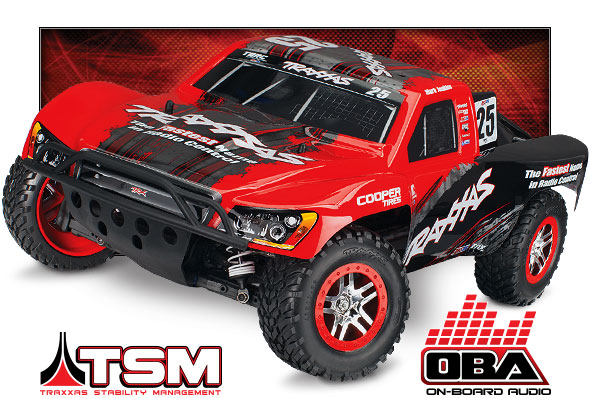Slash 4X4 OBA (#68086-24) High Three-Quarter View (Mark Jenkins Edition, Traxxas #25)