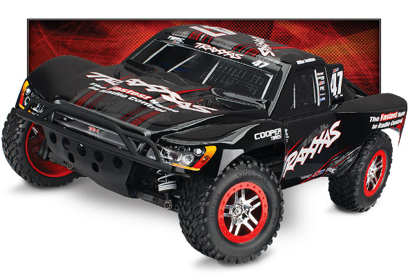 Slash 4X4 OBA (#68086-24) High Three-Quarter View (Mike Jenkins Edition, Traxxas #47)