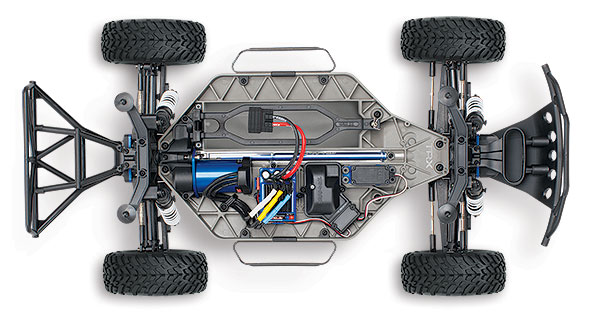 Slash 4X4 VXL (#68086-4) Chassis - Top View