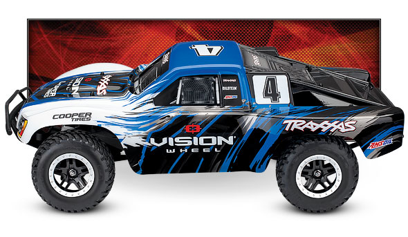 Slash 4X4 VXL (#68086-4) (Vision Racing Edition) - Side View
