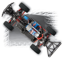 1/16 Slash 4X4 Chassis
