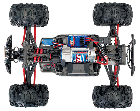 1/16 Summit (#72054-5) Chassis Top View
