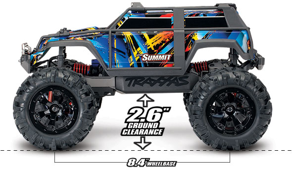 1/16 Summit (#72054-5) Ground Clearance