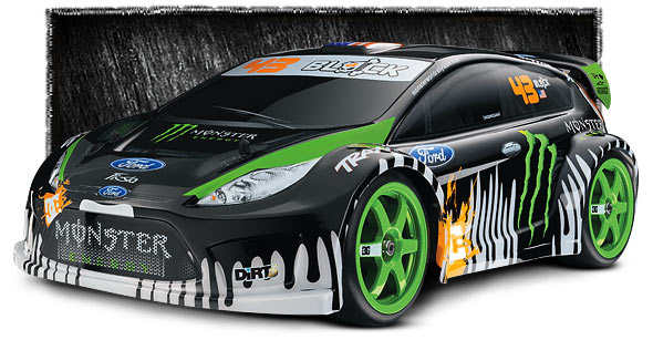 7309 3qtrFrontLow med TRAXXAS 1/16 RALLY with Ken Block/Monster Energy Graphics is coming!